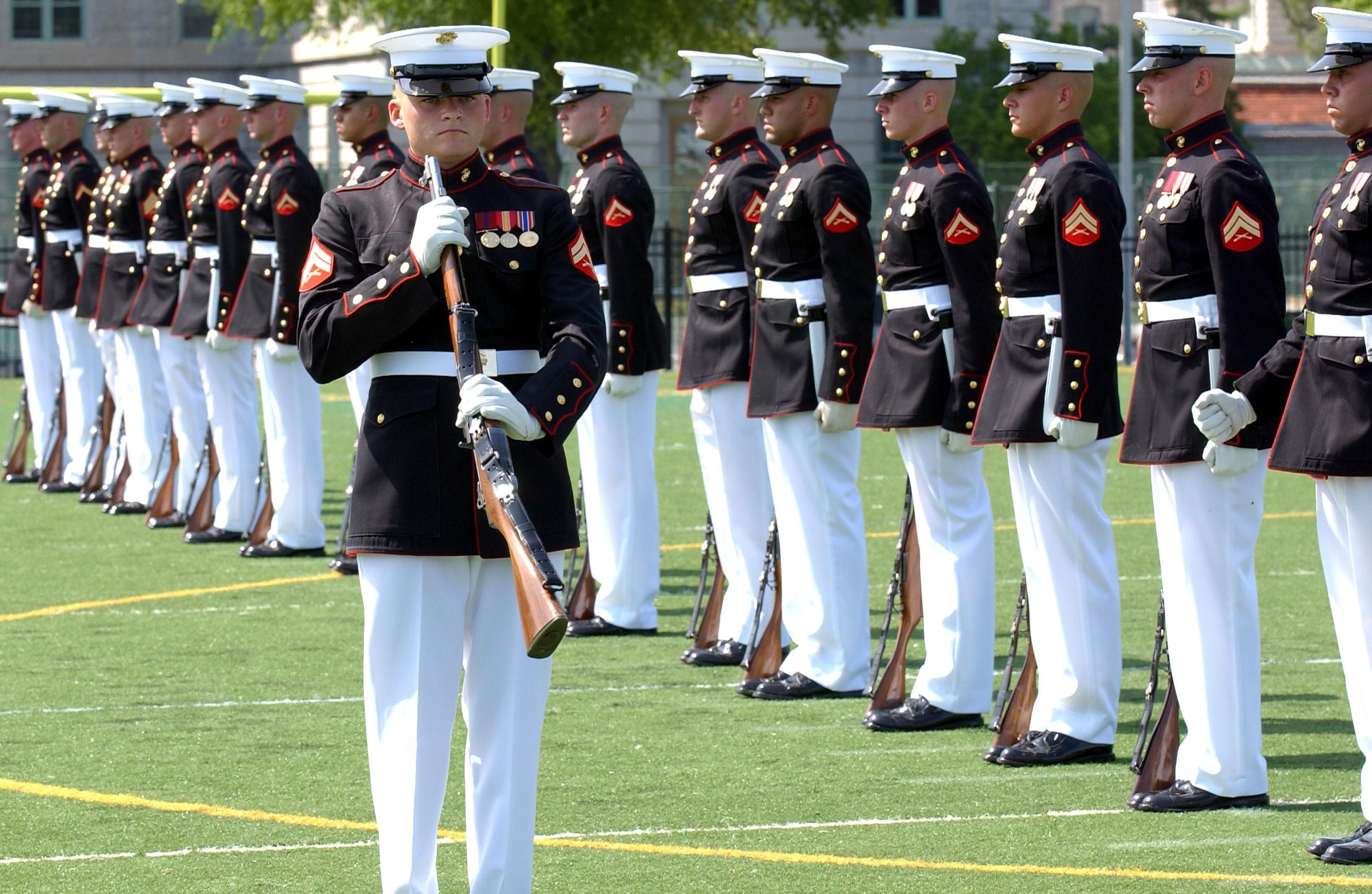 United States Marine Corps Drill Team