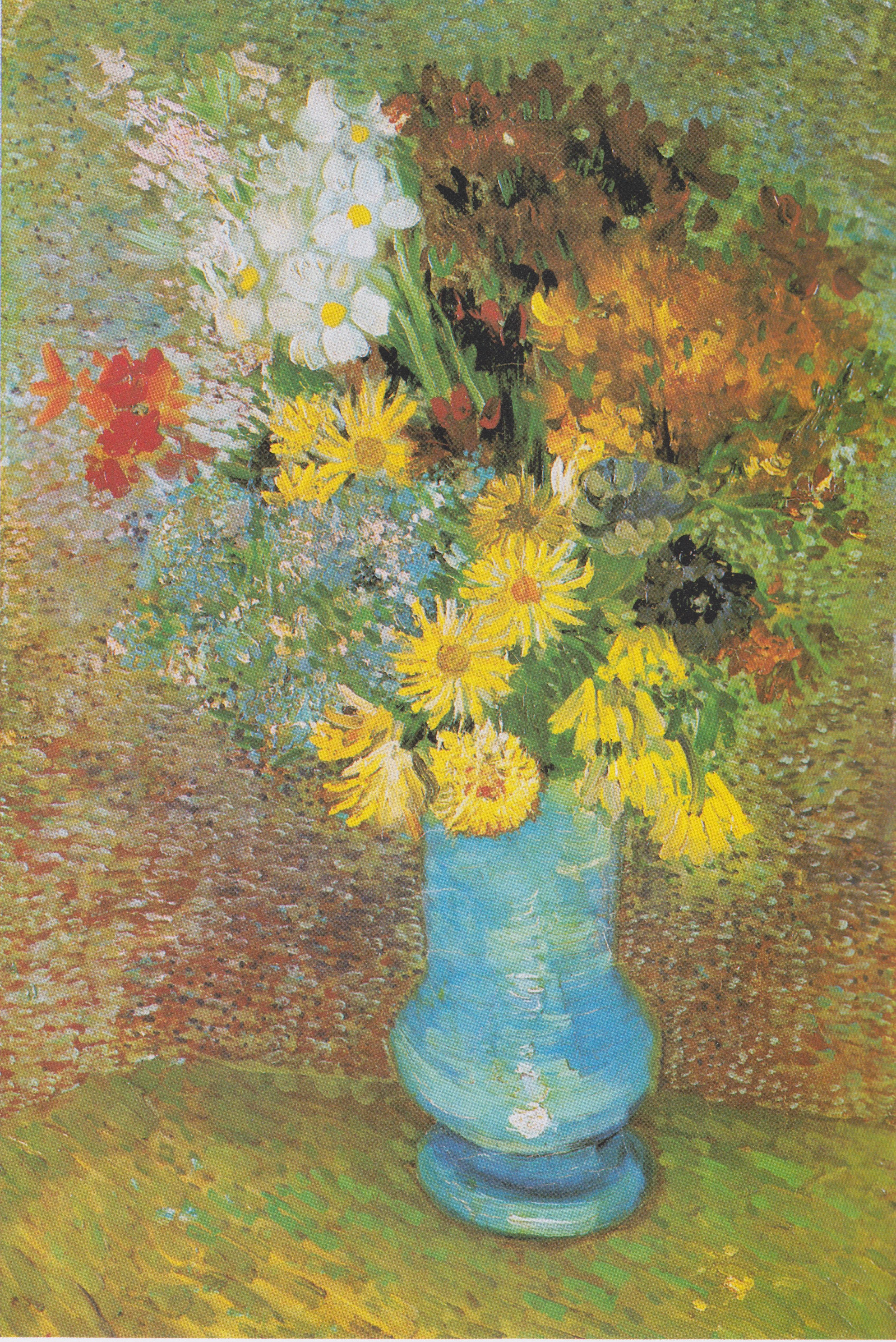 Dosya Van Gogh Vase Mit Margeriten Und Anemonen Jpeg Vikipedi