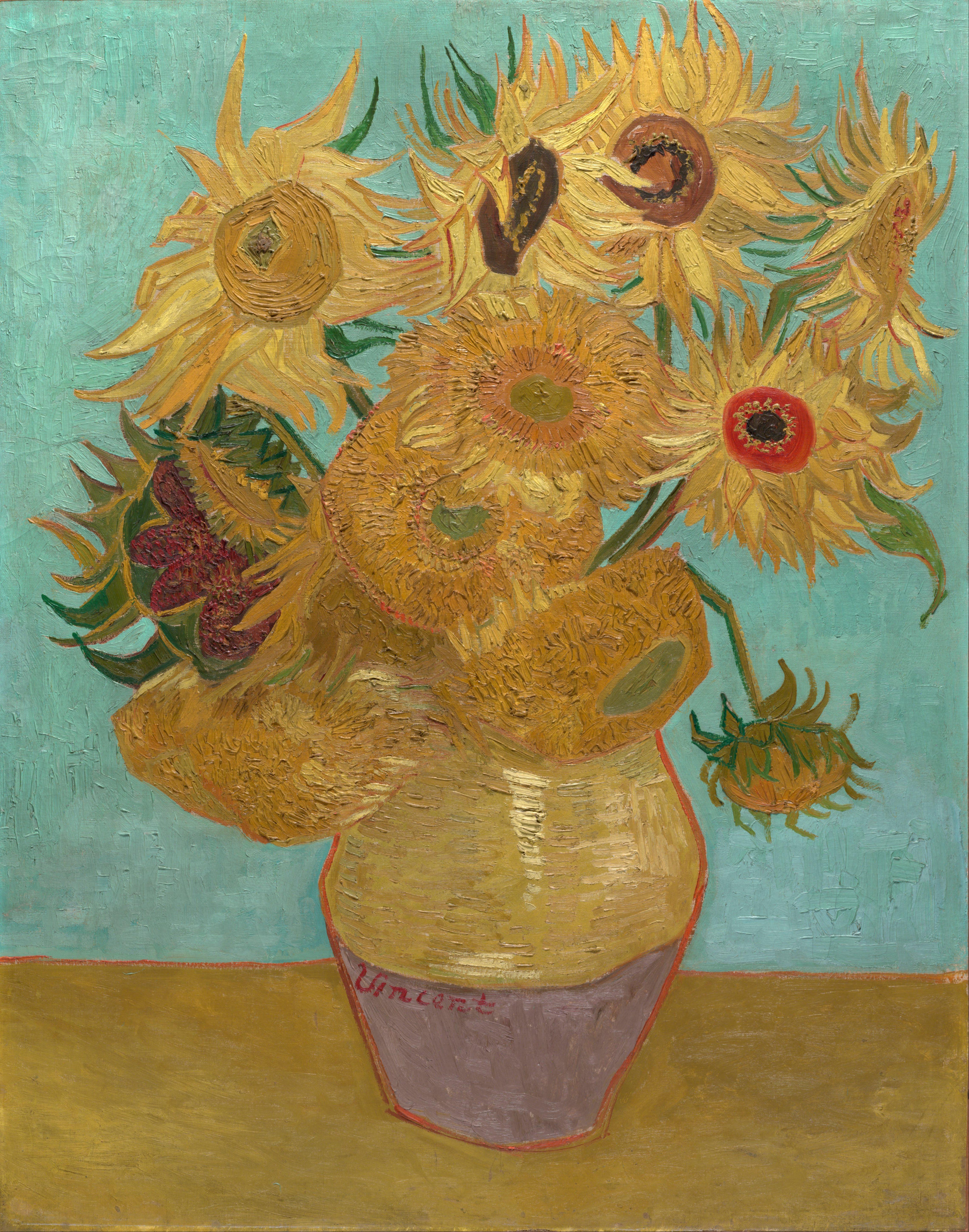 File Vincent Willem van Gogh Dutch Sunflowers Google Art Project W