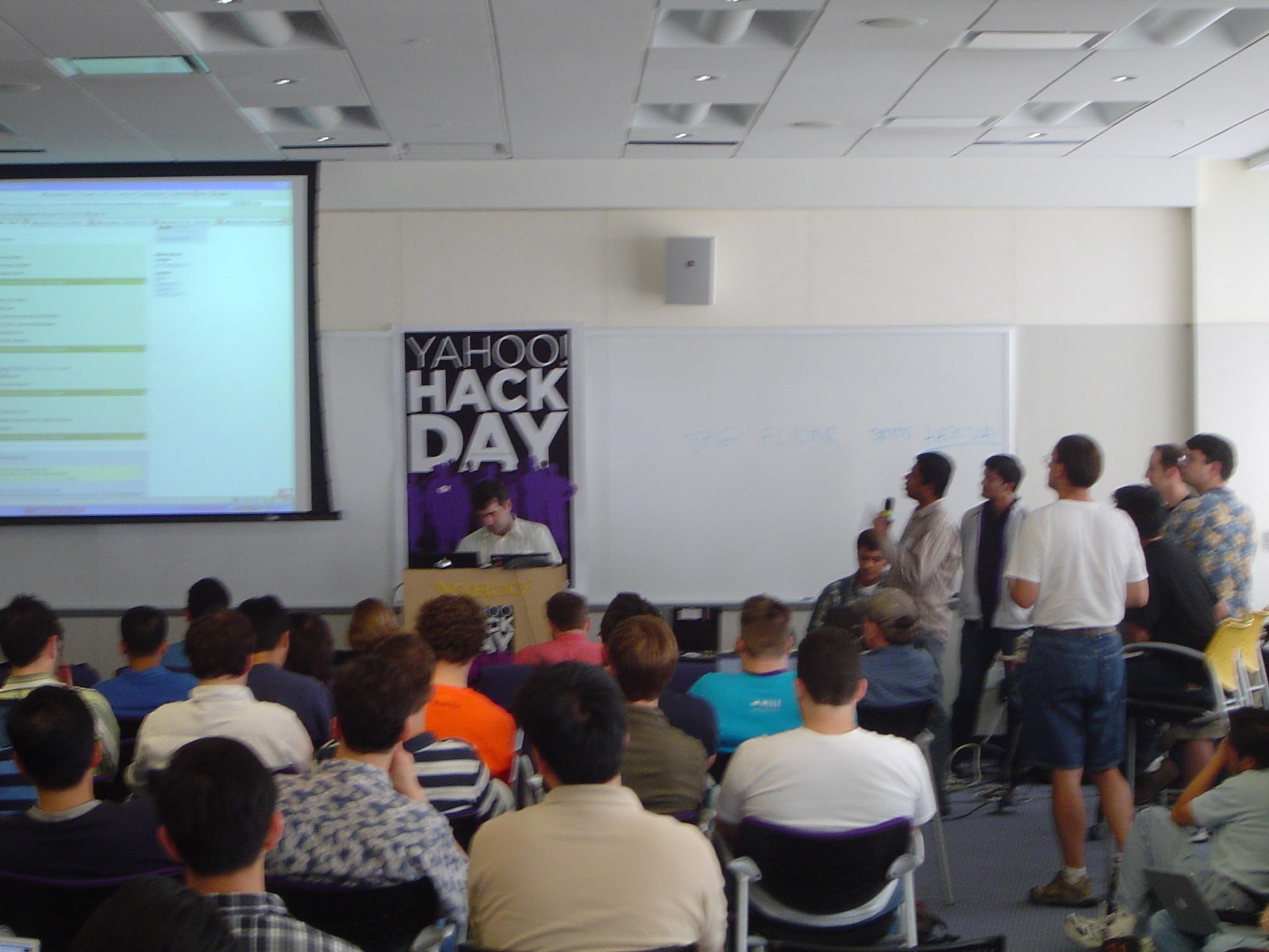 Yahoo! Internal Hack Day Event at Yahoo HQ (Sunnyvale, CA USA), June 6, 2006