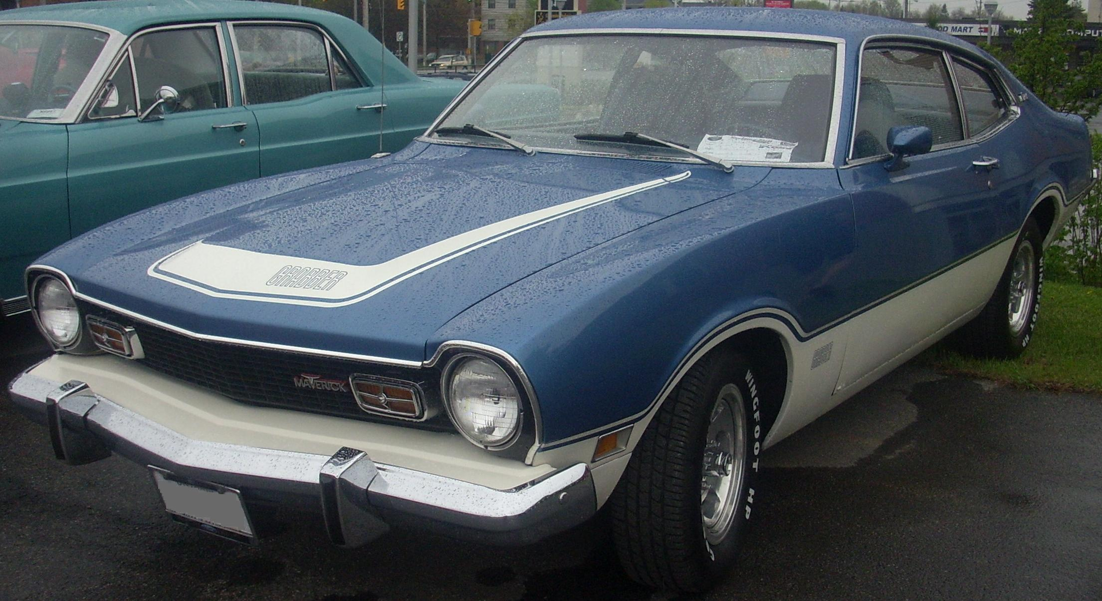 File:'73 Ford Maverick Grabber (Sterling Ford).jpg - Wikipedia, the ...