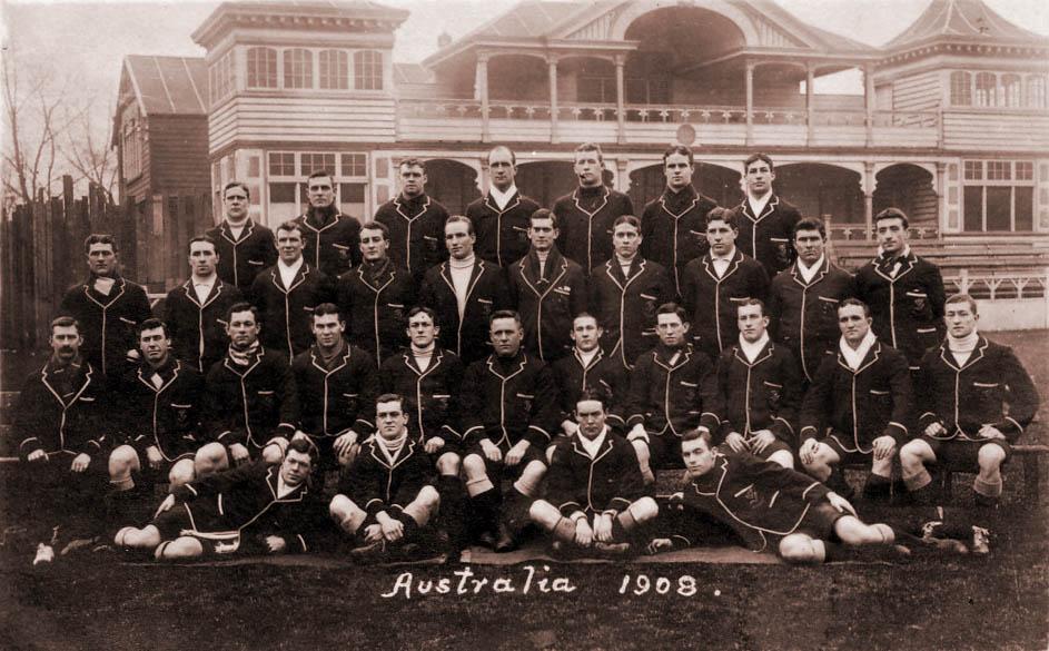 1908�1309 Australia rugby union tour of Britain