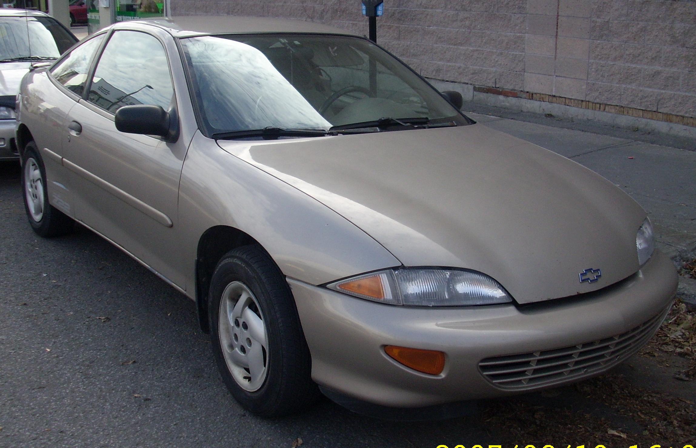 Chevrolet Cavalier Z24 Coupe Automatic (1999)
