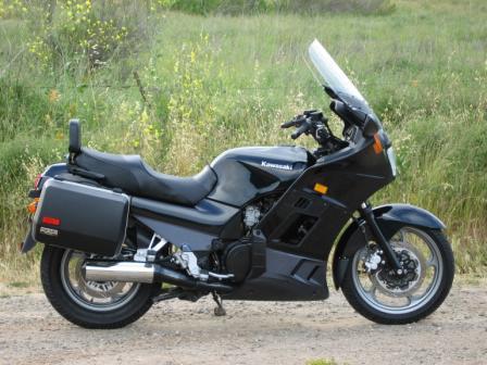 Kawasaki Concours  Givi Trunk