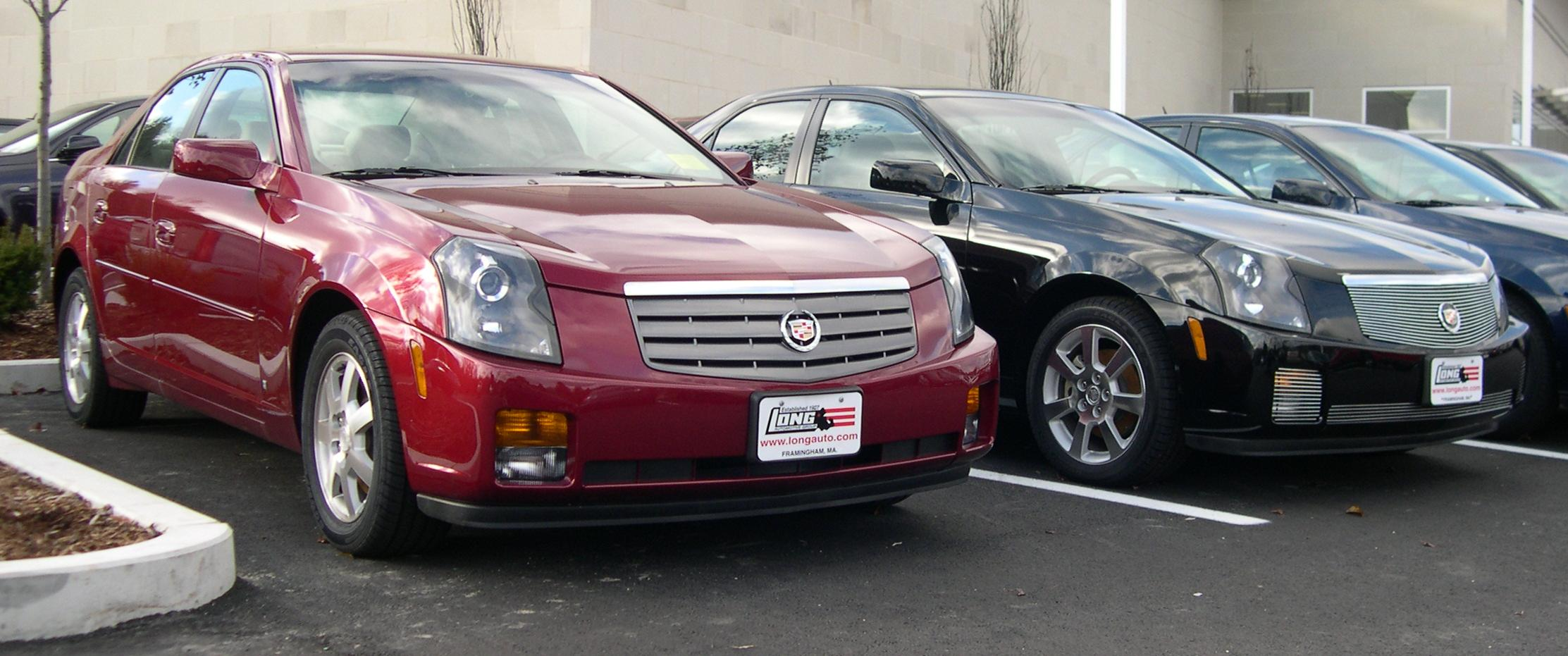 File:2006 Cadillac CTS x2.jpg - Wikimedia Commons