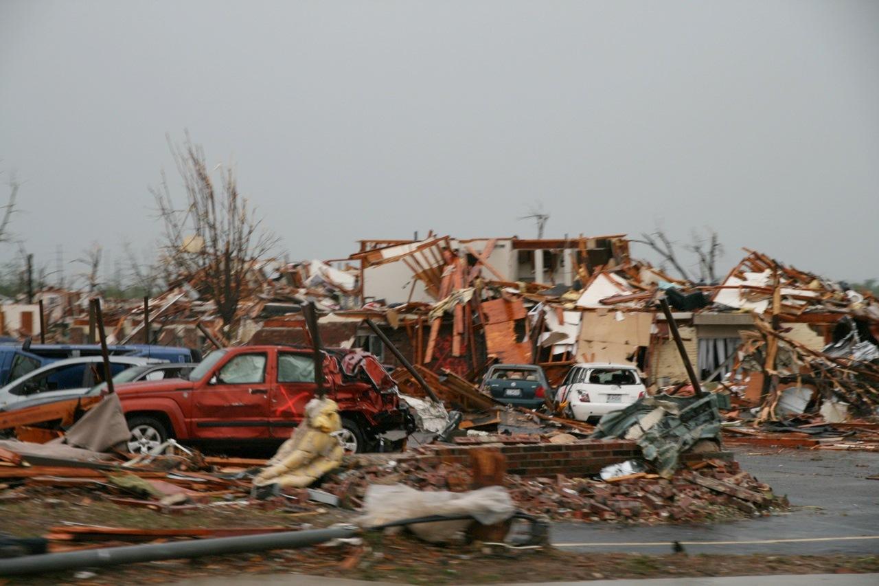 Joplin, Mo., tornado damage