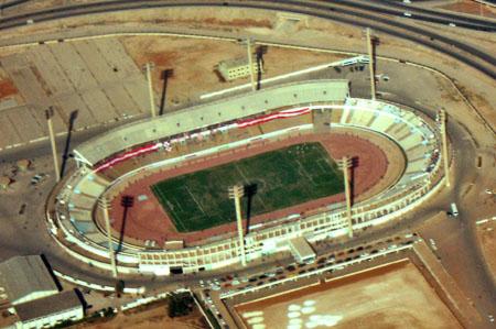 Depiction of Estadio 28 de Marzo