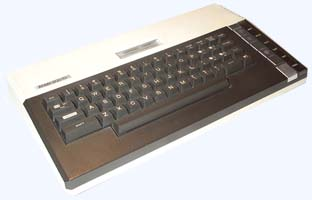 An Atari 800XL, one of the most popular machines in the series.