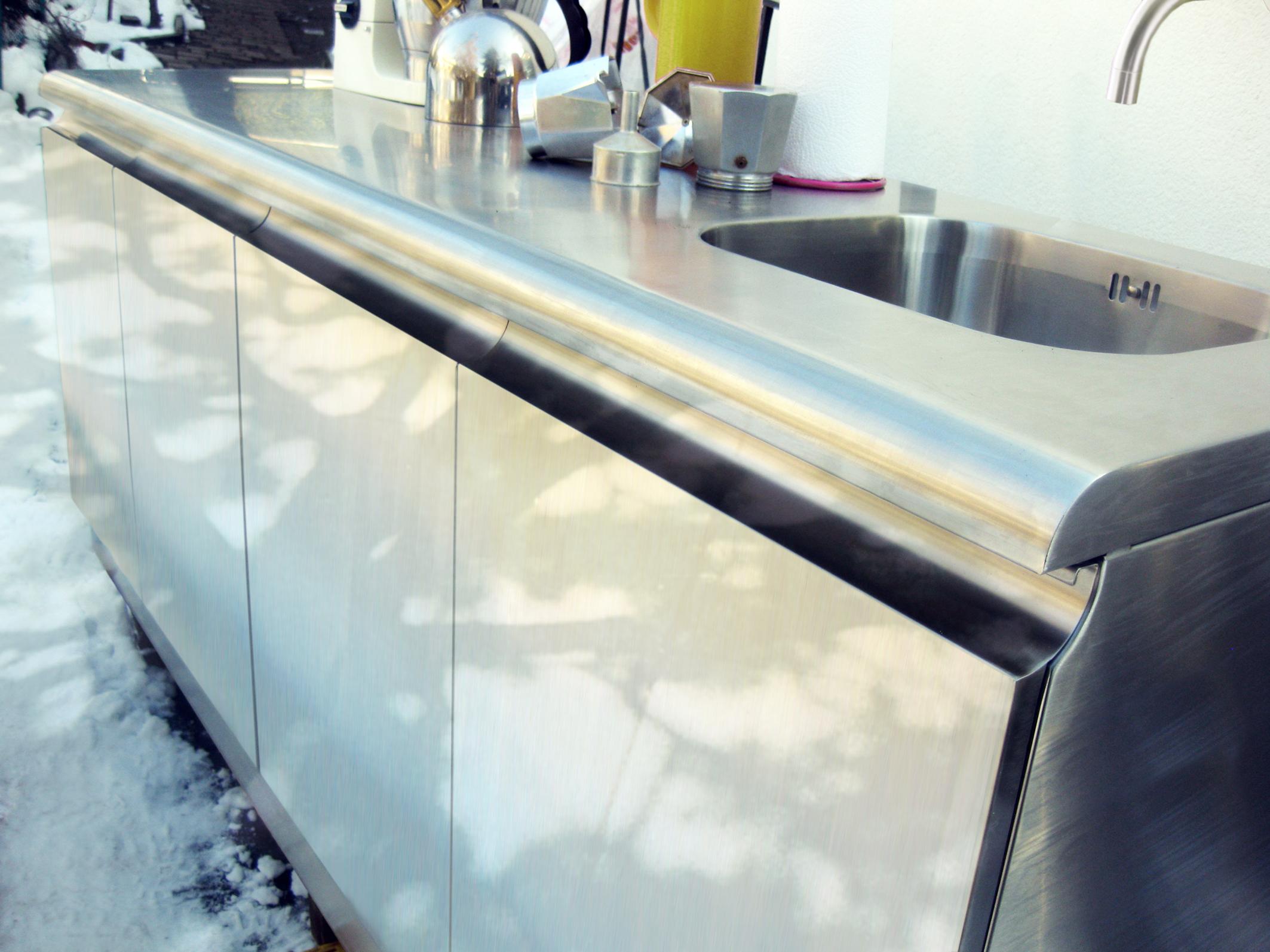Einzigartig Küche Aus Stahl