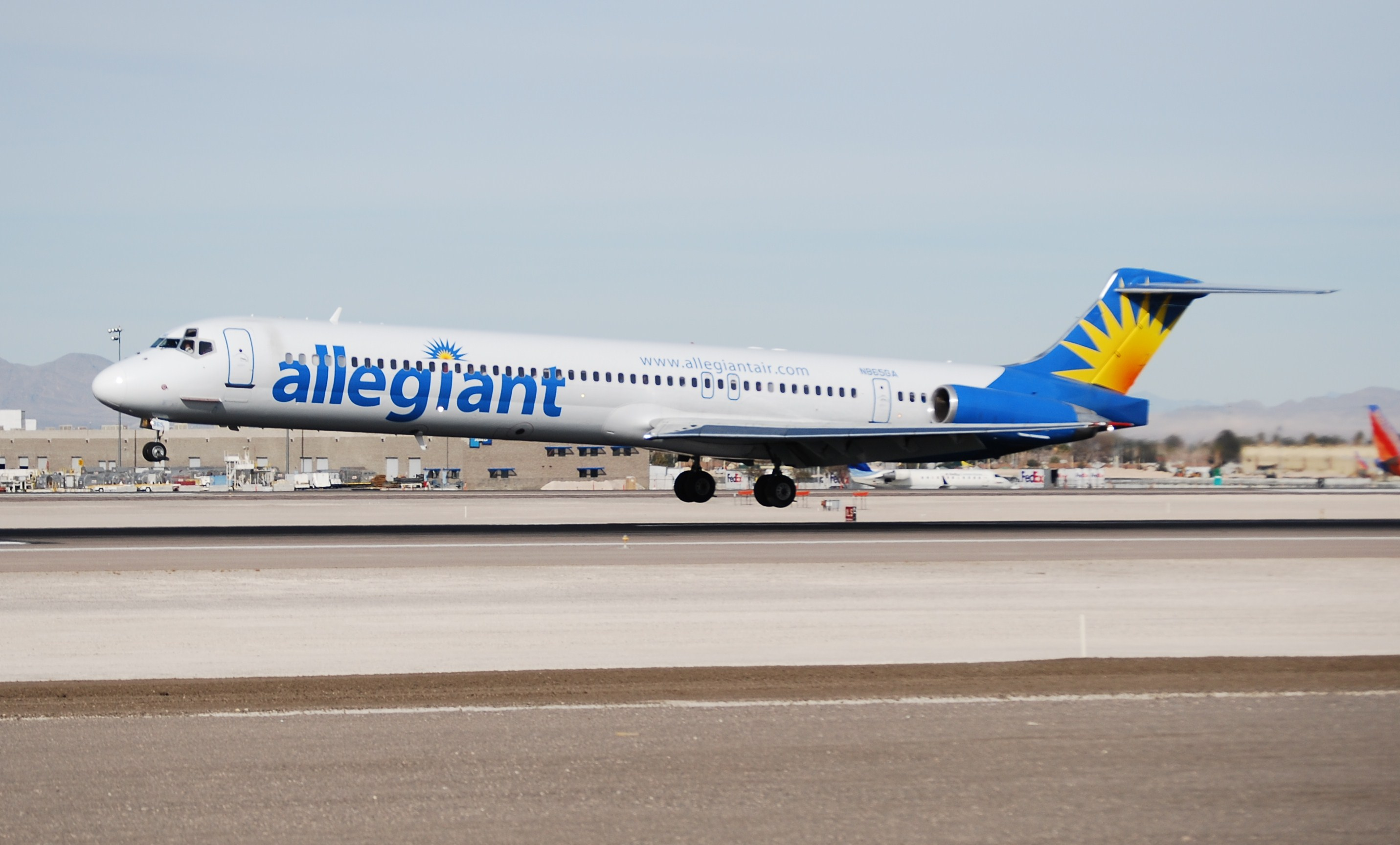 Allegiant Air (usually shortened to Allegiant and stylized as allegiant) is an American low-cost airline that operates scheduled and charter flights. The 9th largest commercial airline in the US, it is wholly owned by Allegiant Travel Company.