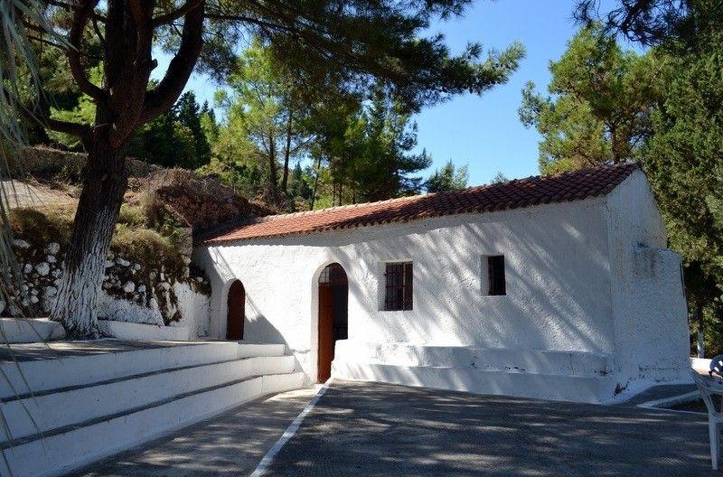 Agia Eleousa, Agios Petros, Lefkada