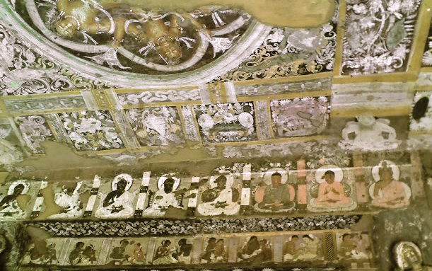 File:Ajanta Entrance cave 17.jpg