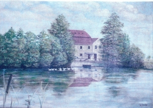 ''Die alte Mühle zu Ogrosen''
