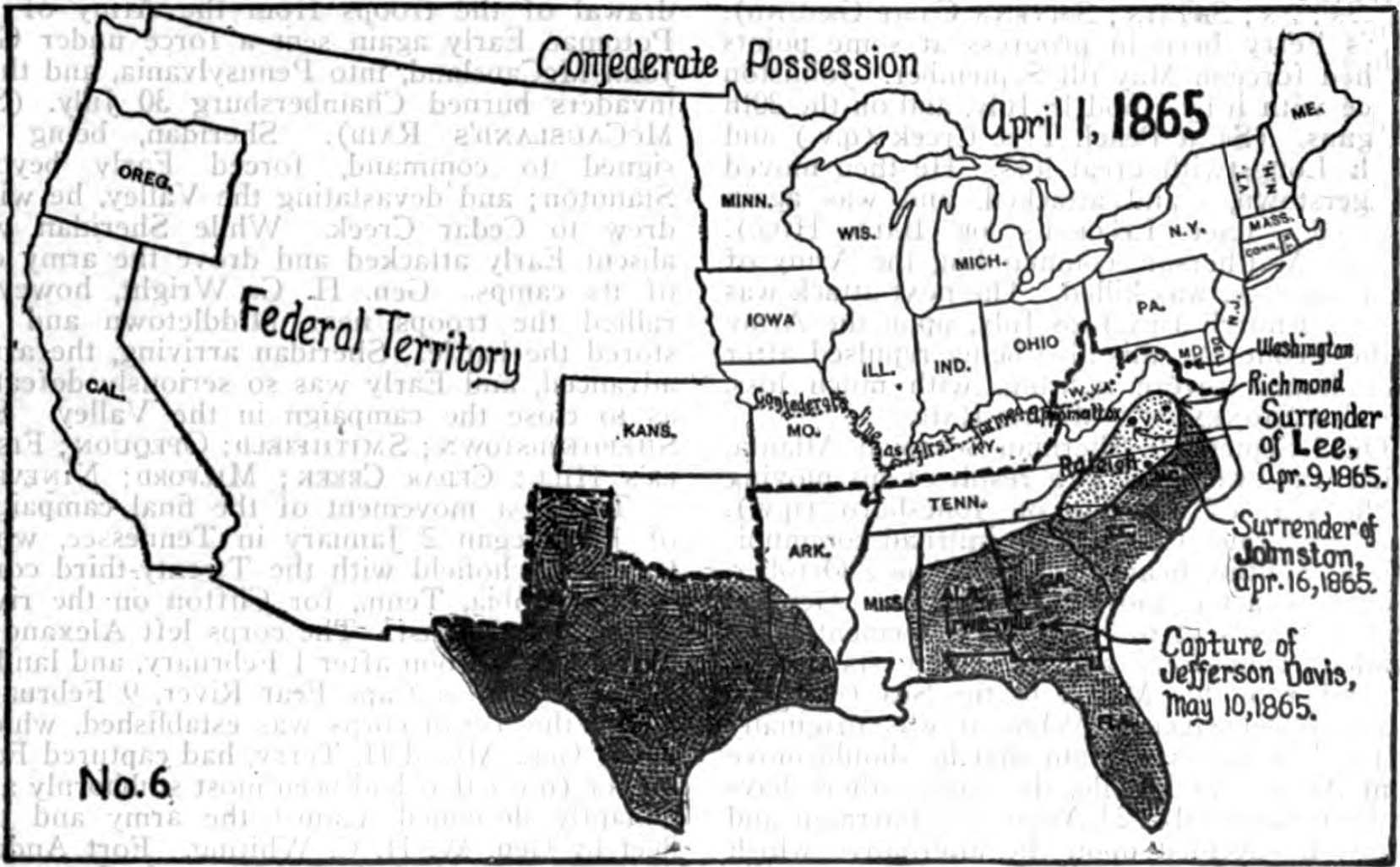 FileAmericana Civil War in America  Map 6jpg  Wikimedia Commons