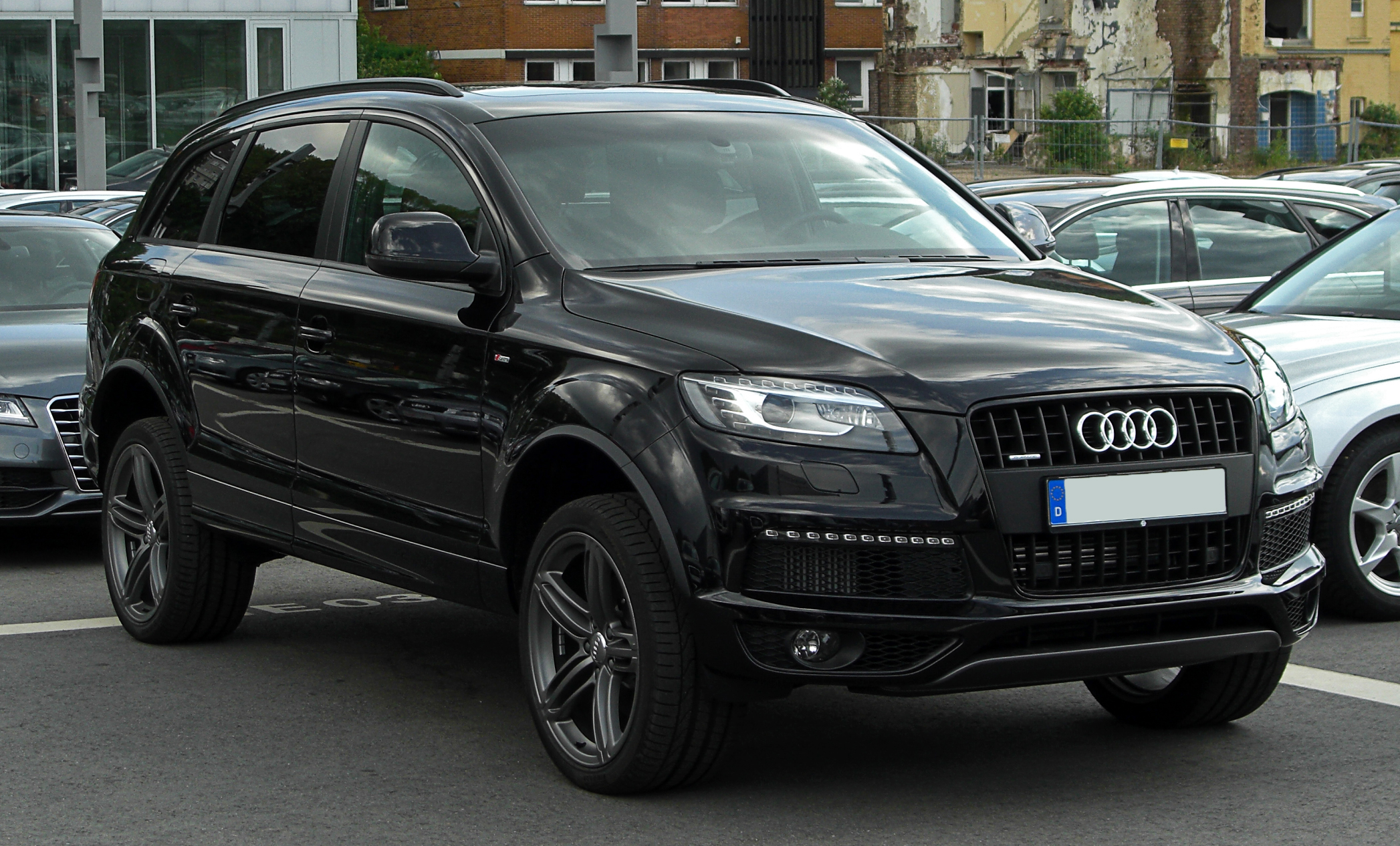 file audi q7 3 0 tdi clean diesel quattro s line facelift. Black Bedroom Furniture Sets. Home Design Ideas