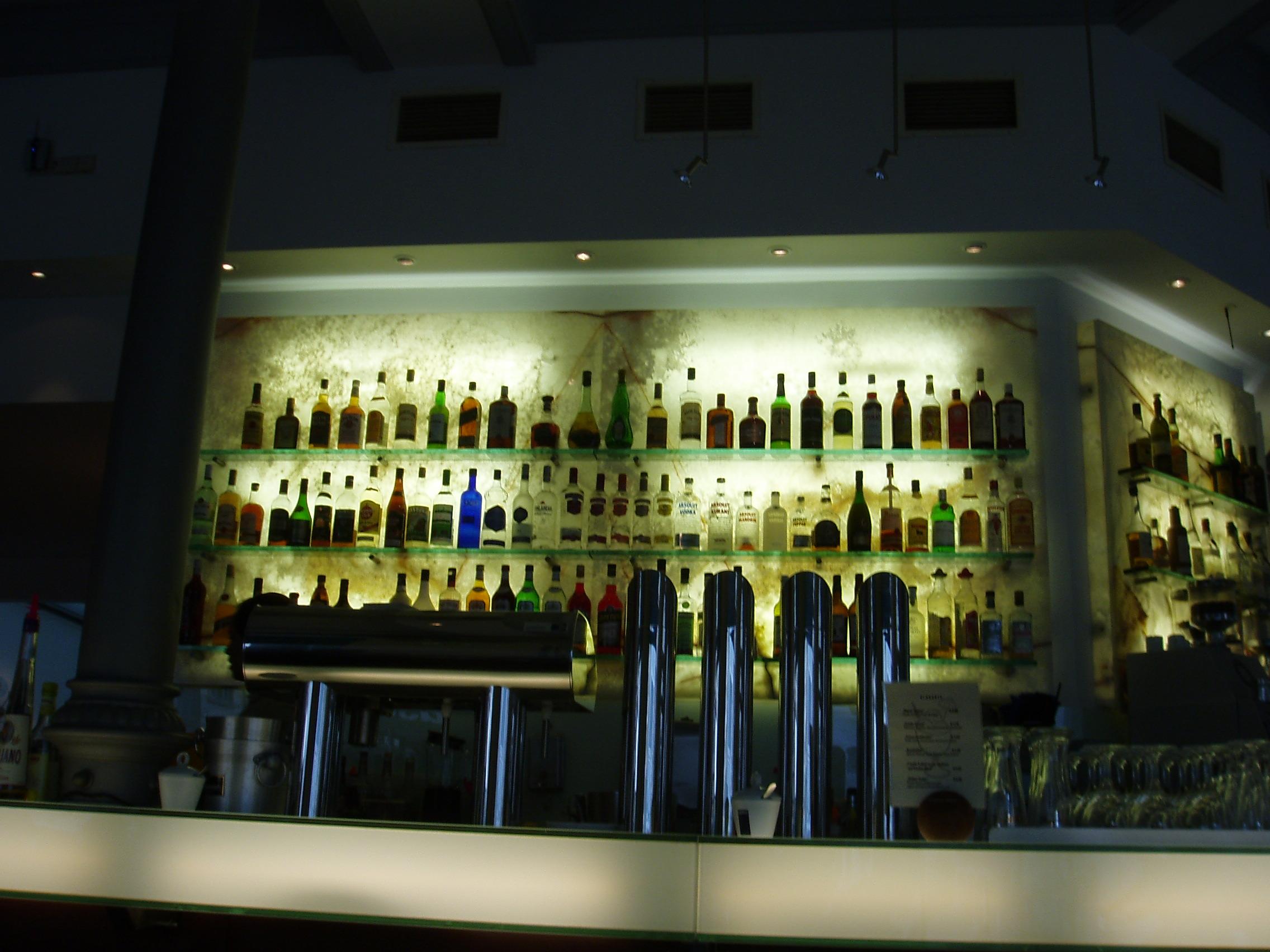 File backlit - Picture of bar ...