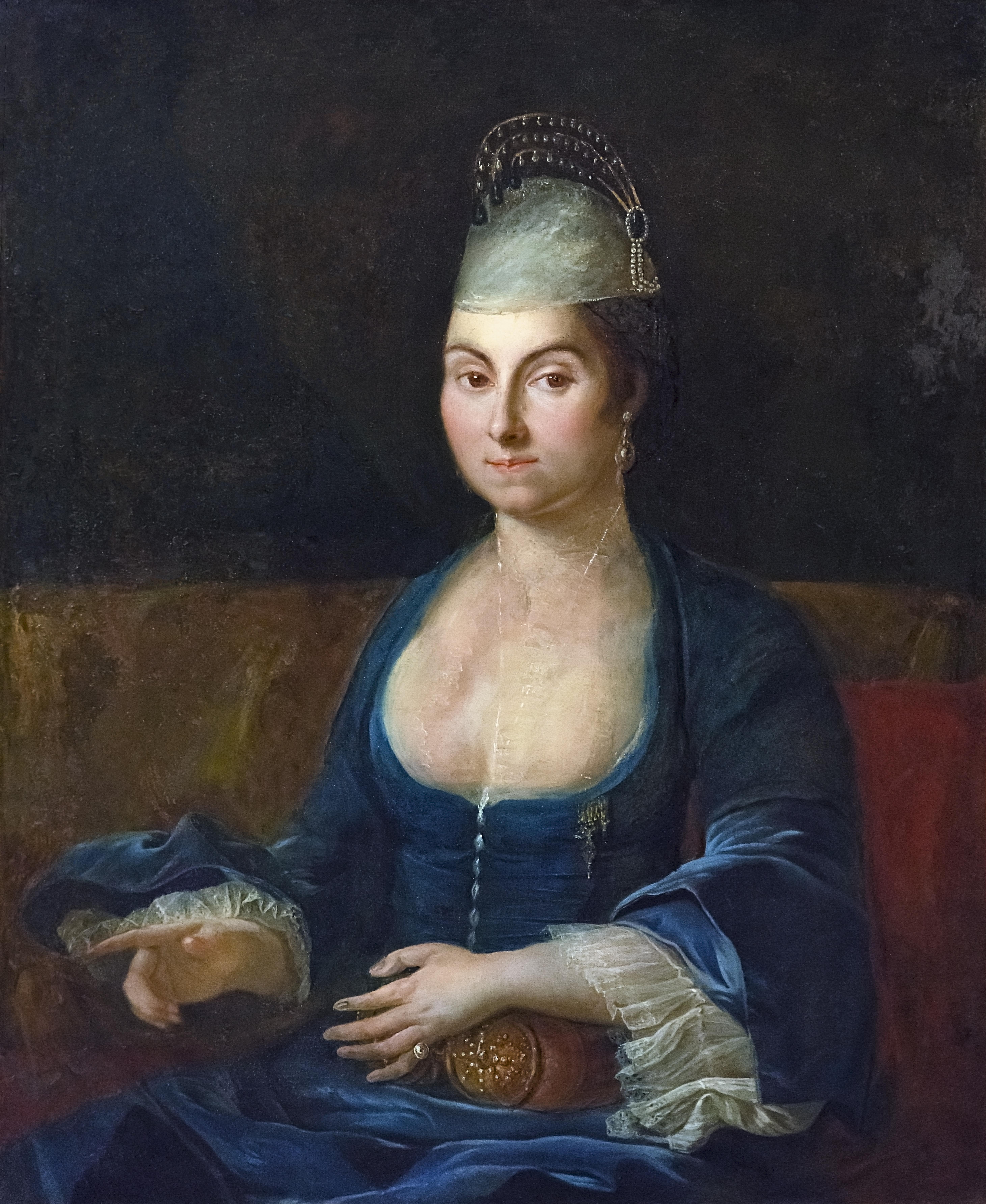 Beaux-Arts de Carcassonne - Portrait de Mme Louis Chénier, née Elisabeth - Cazes fils Joconde04400000533.jpg