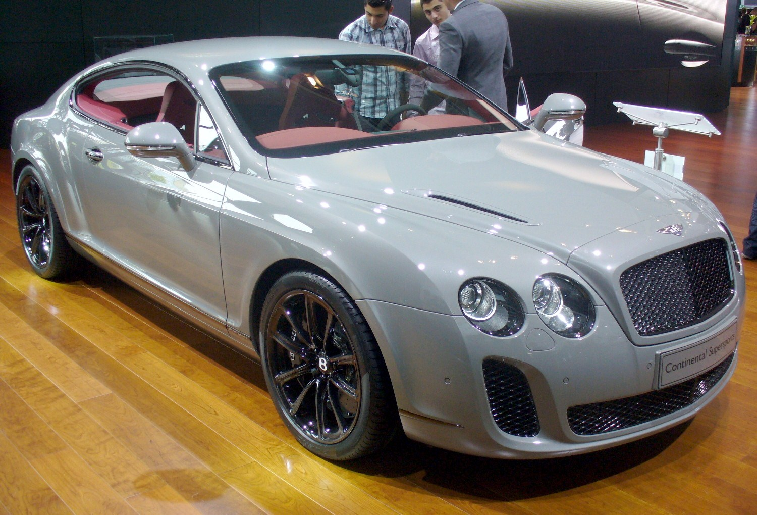 file bentley continental gt supersports jpg wikimedia commons. Black Bedroom Furniture Sets. Home Design Ideas