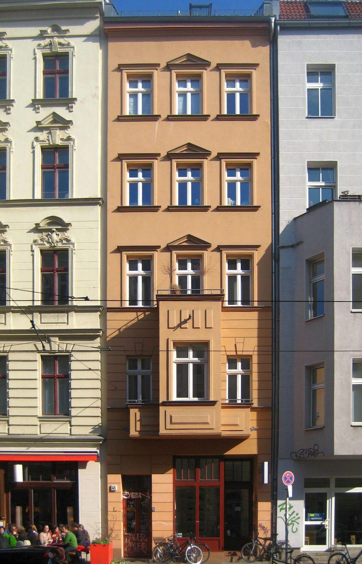 datei berlin mitte alte schoenhauser strasse 45 wikipedia. Black Bedroom Furniture Sets. Home Design Ideas
