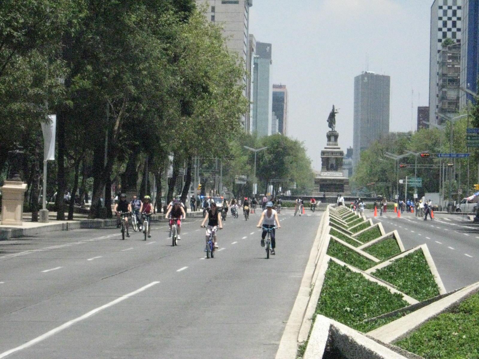 Reforma Mexico City Sunday