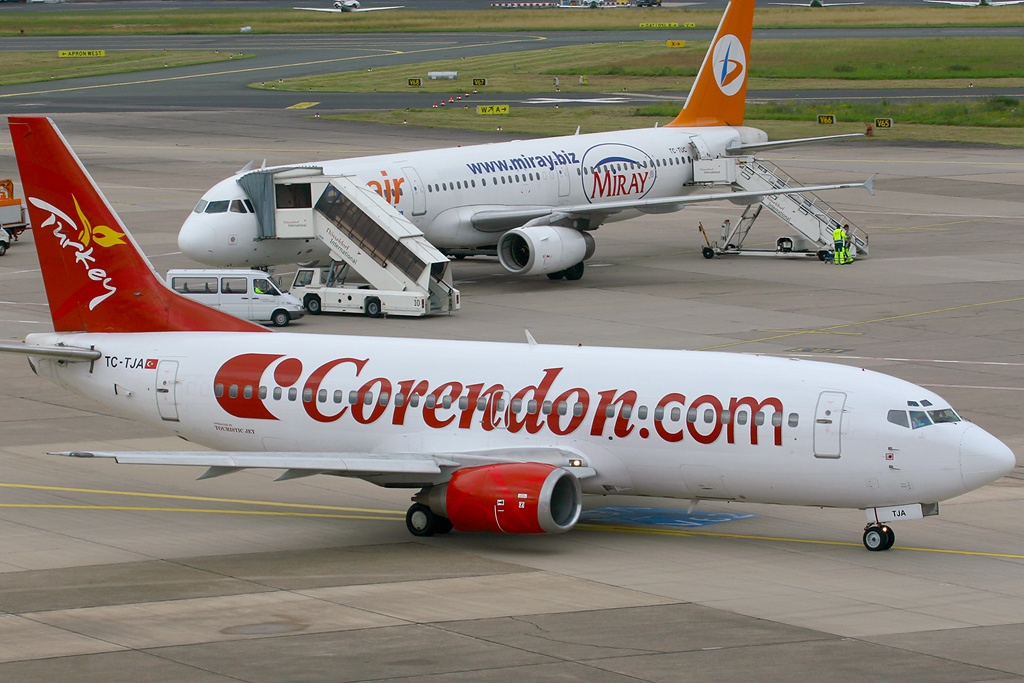 Airline Korendon Airlines (Corendon Airlines). Official sayt.2