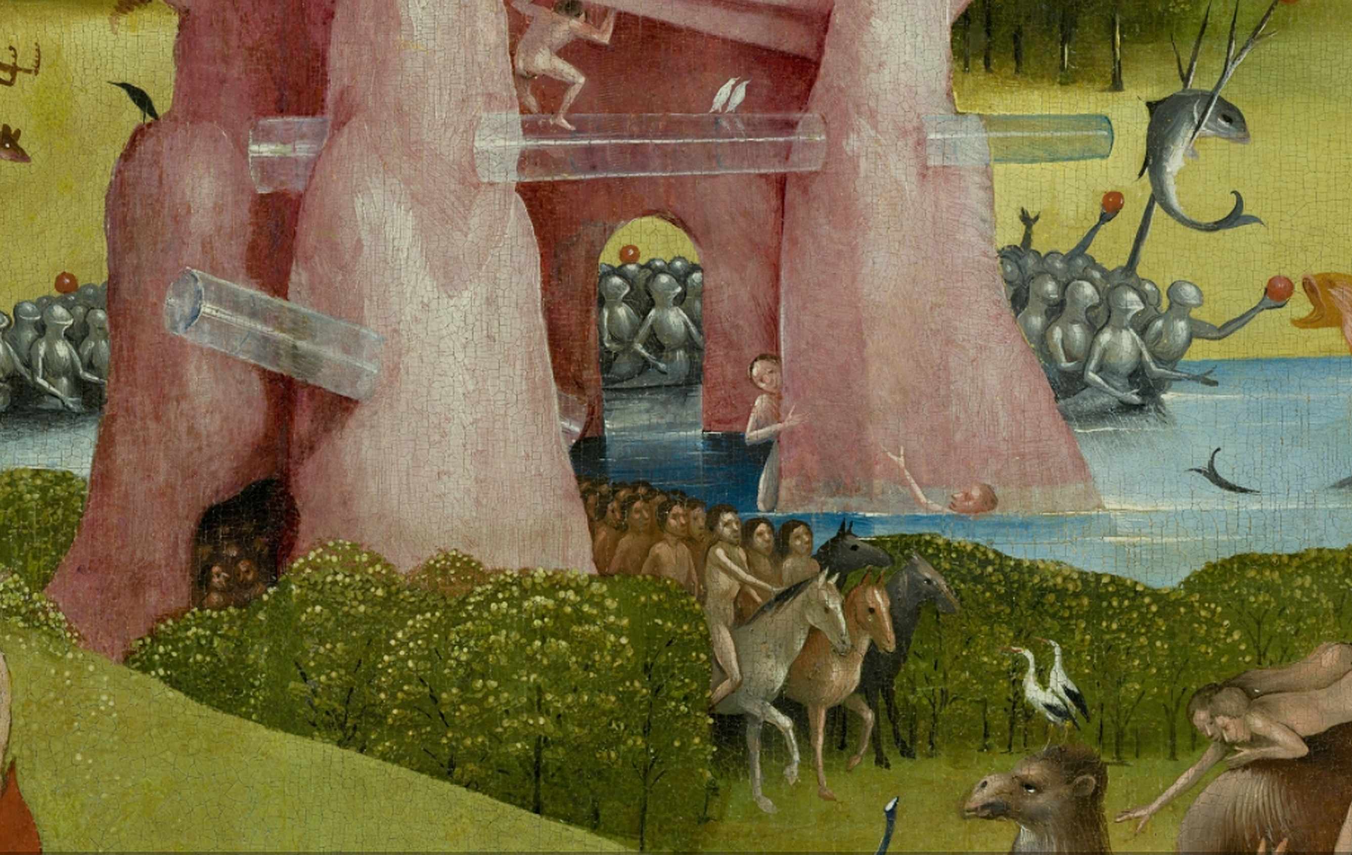 File Bosch Hieronymus The Garden Of Earthly Delights Center Panel Detail Hybrid Stone