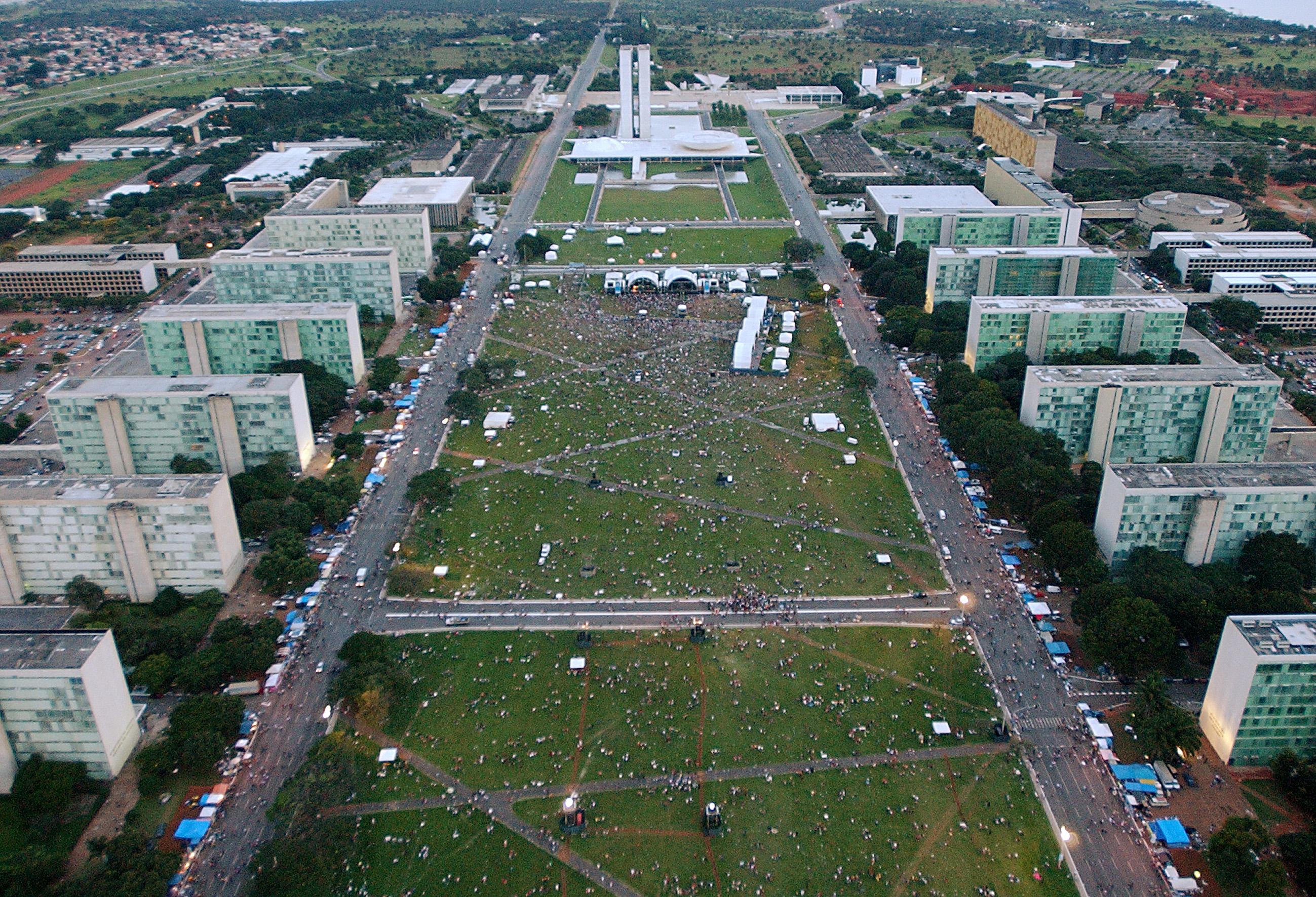 Brasilia, ibu kota Brazil | wikimedia