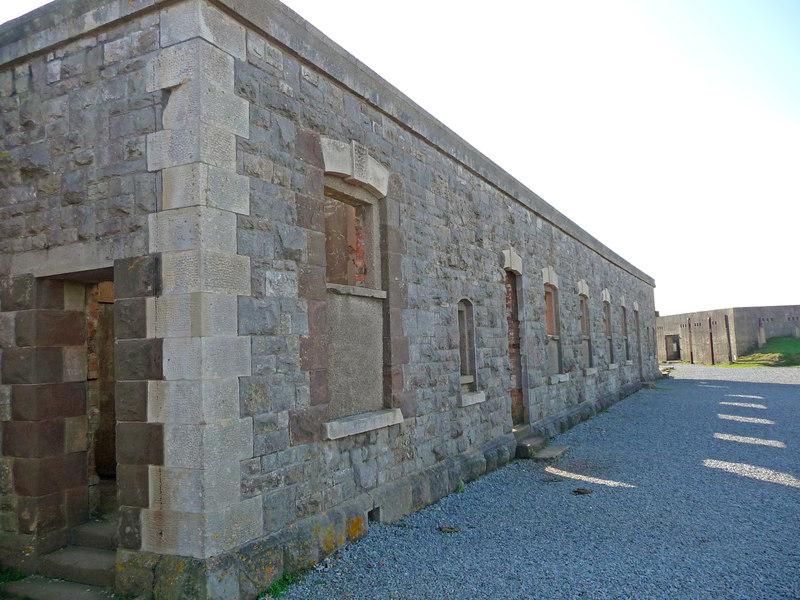 Brean Down - Brean Down Fort Barracks (geograph 2794855)