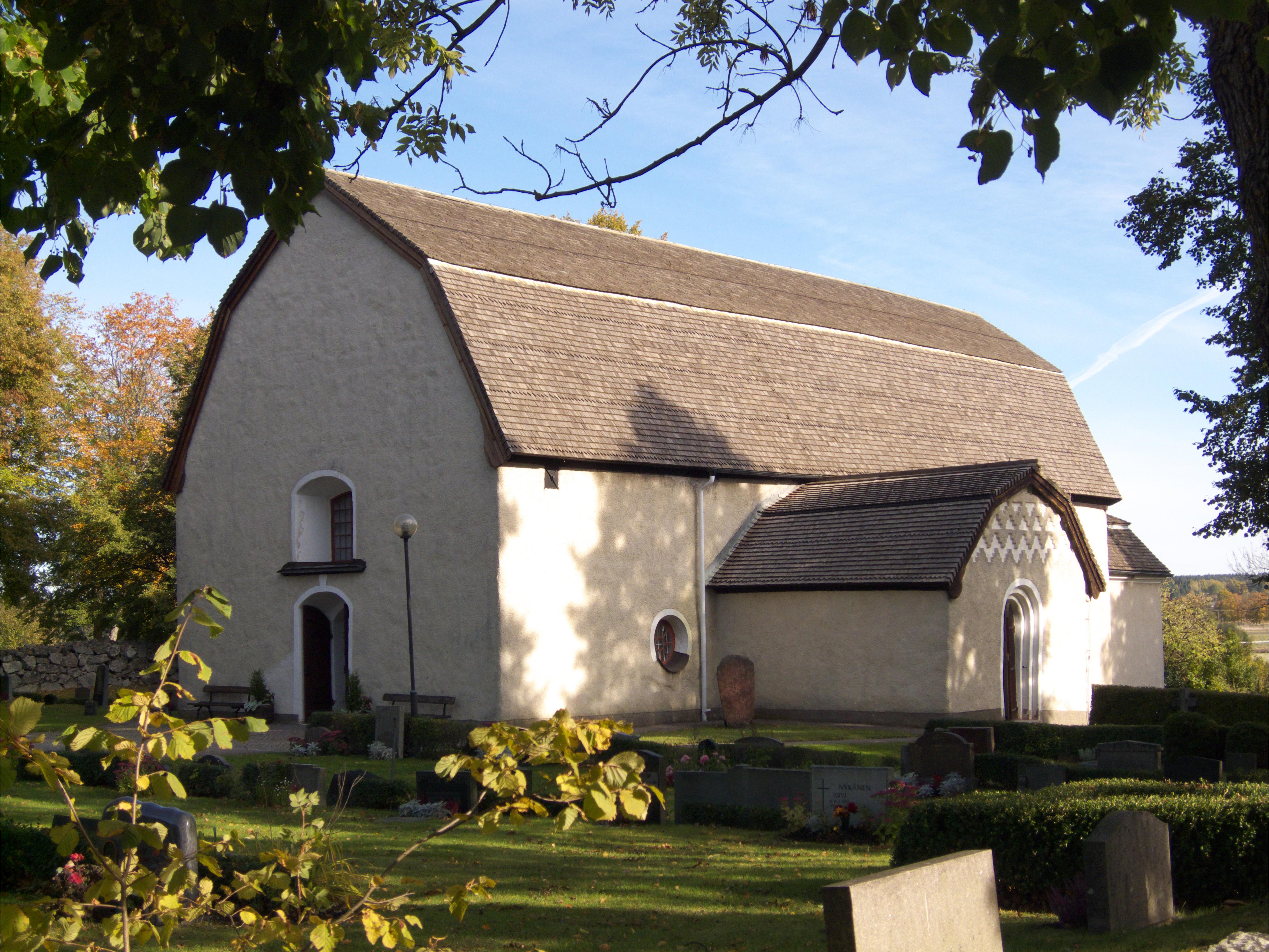 Angarn Church - Wikipedia