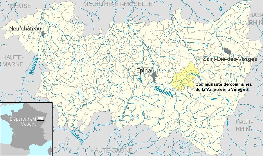 communaut 233 de communes de la vall 233 e de la vologne