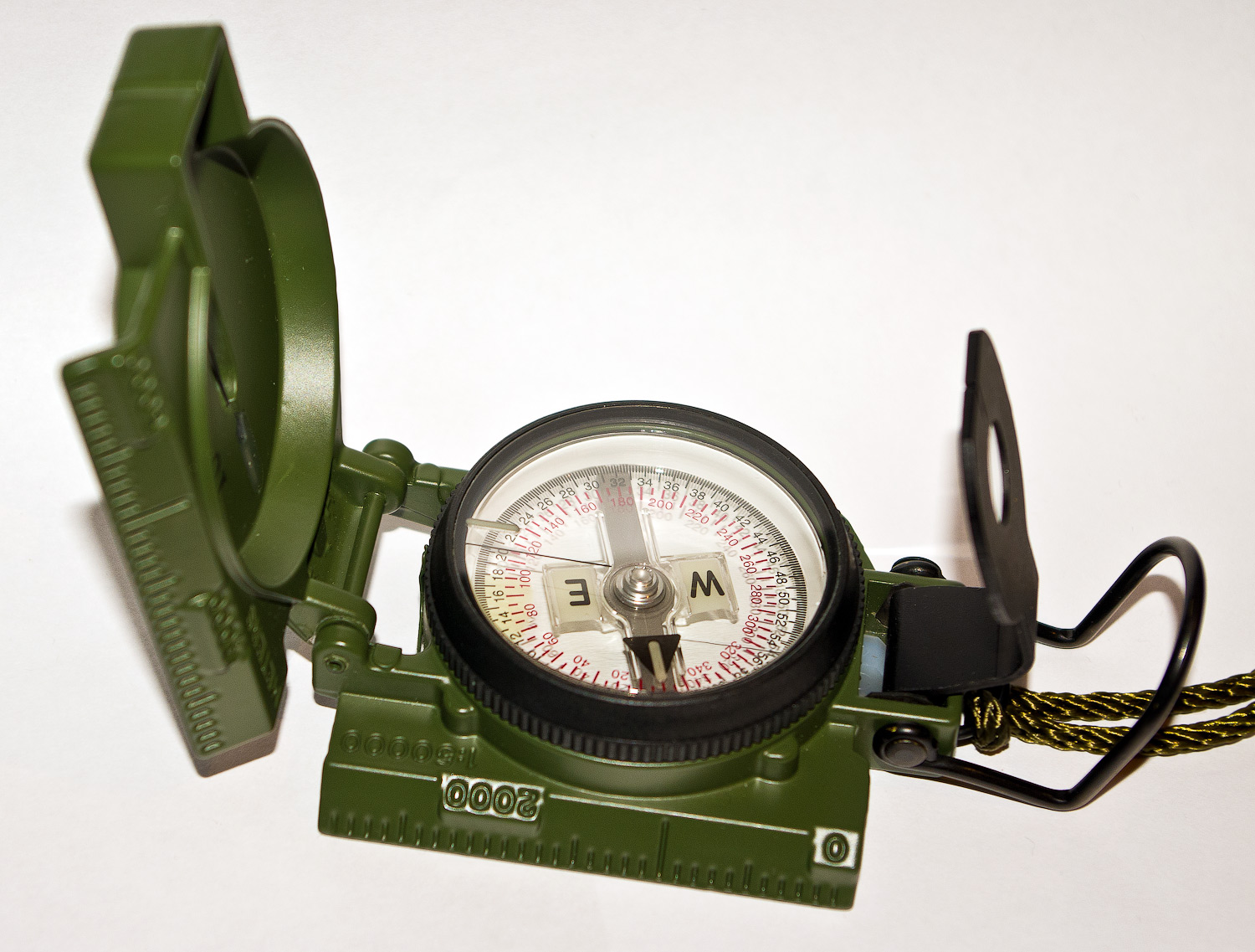 Compasses Used To Avoid Natural Barriers