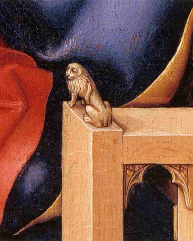 Detail from the Merode Altarpiece