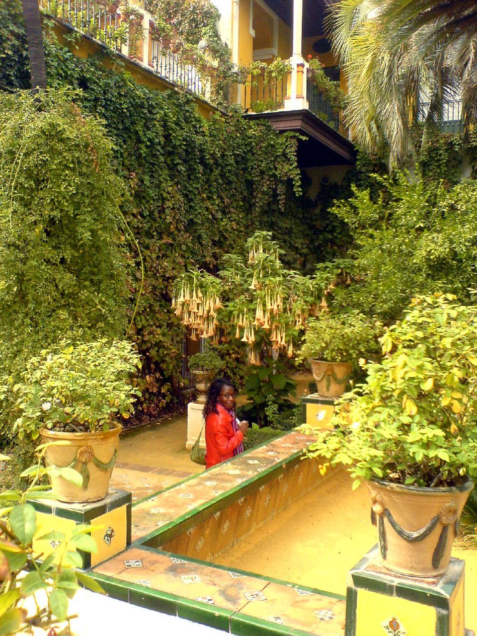 File casa de pilatos jard n wikimedia commons for Jardin chico casa