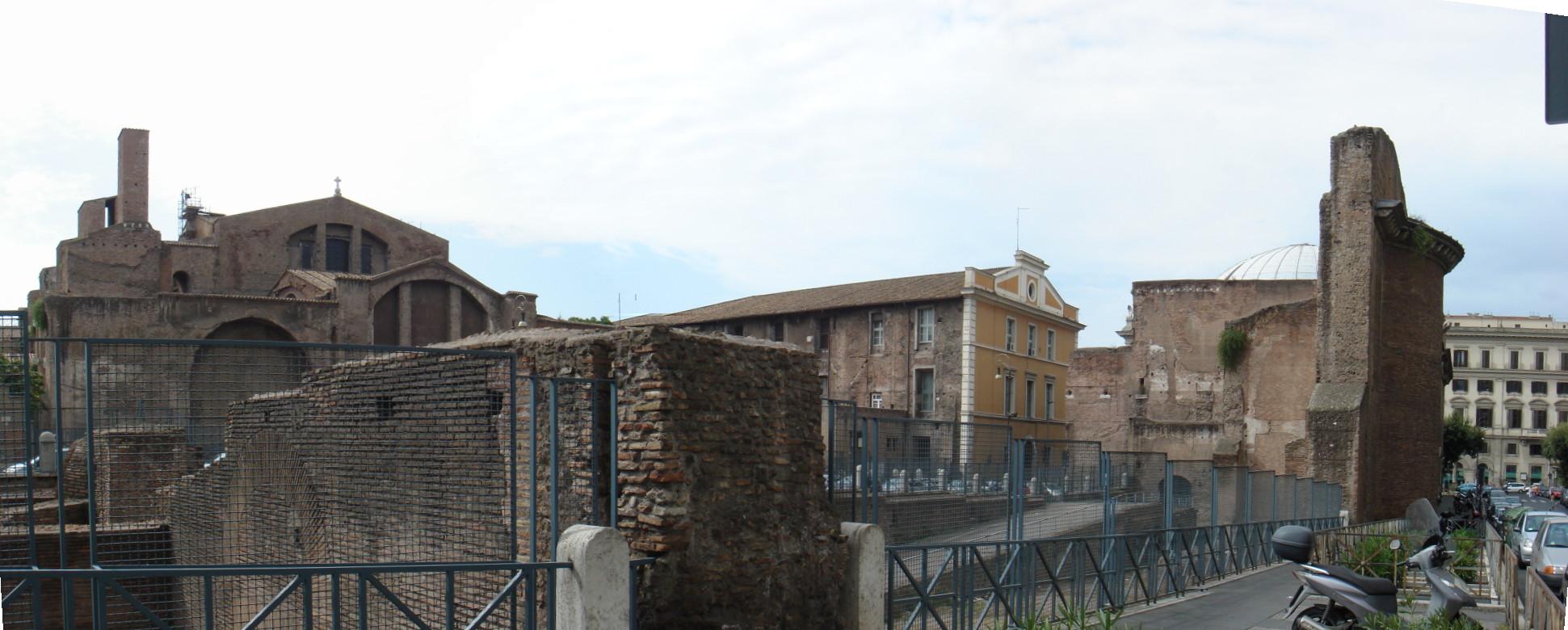 File castro pretorio terme diocleziano da via parigi for Affitto appartamento castro pretorio roma