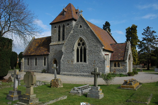 Cemetery chapel, Upton-upon-Severn Chapel and cemetery in Rectory Road in Upton-upon-Severn.