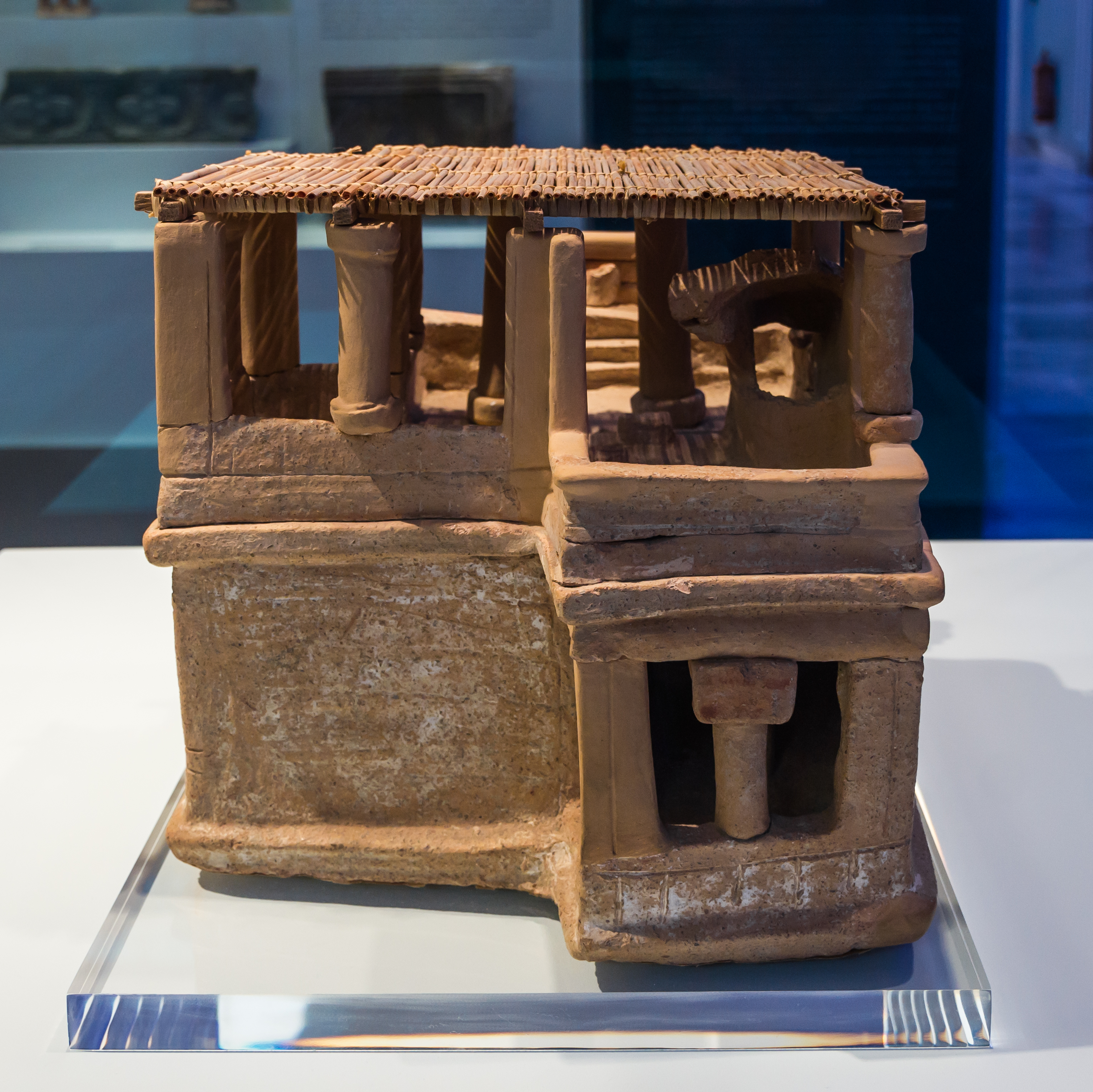Model clay house