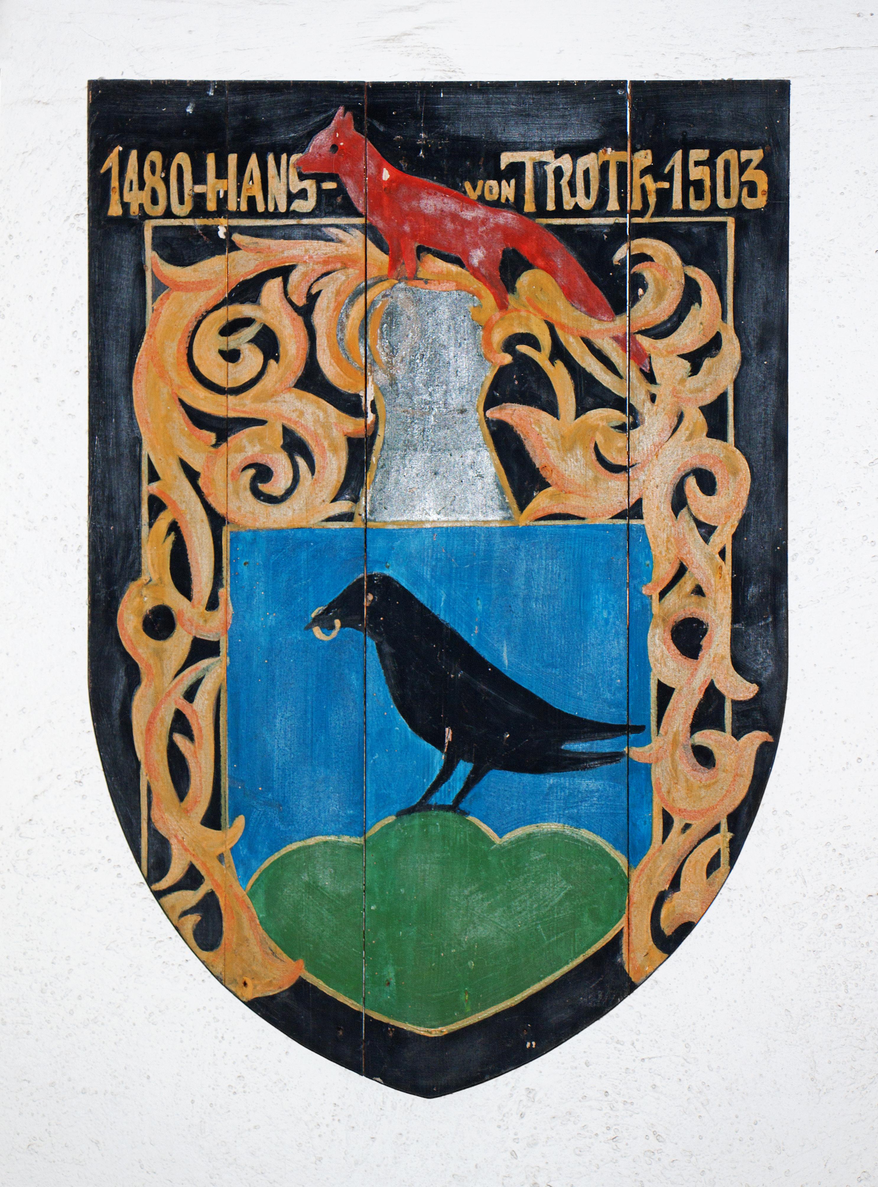 Coat of arms of Hans von Trotha