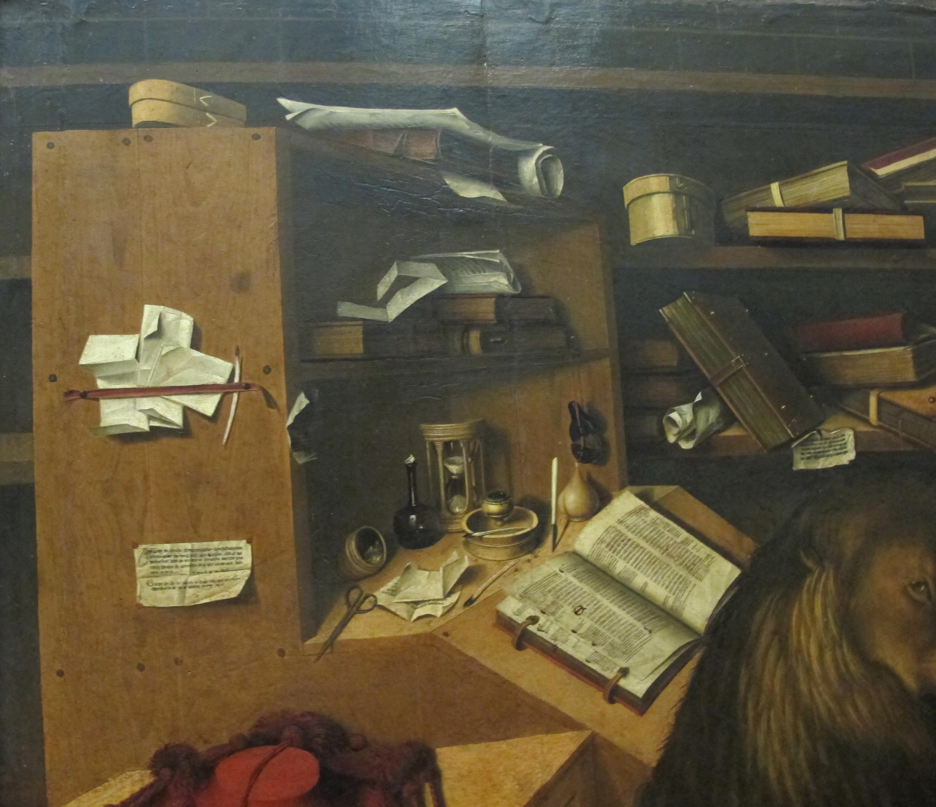 File:Colantonio, San Girolamo nello studio, 1444, 02.JPG ...