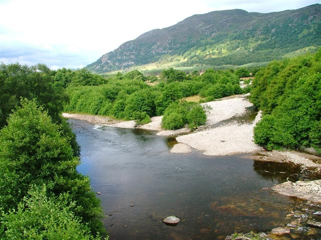 Confluence of the Rivers Spey and Calder - geograph.org.uk - 37359