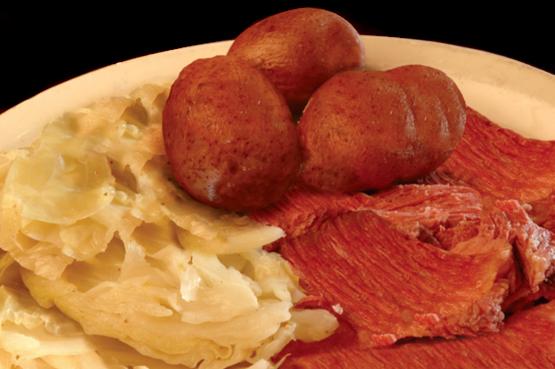English: Irish dinner