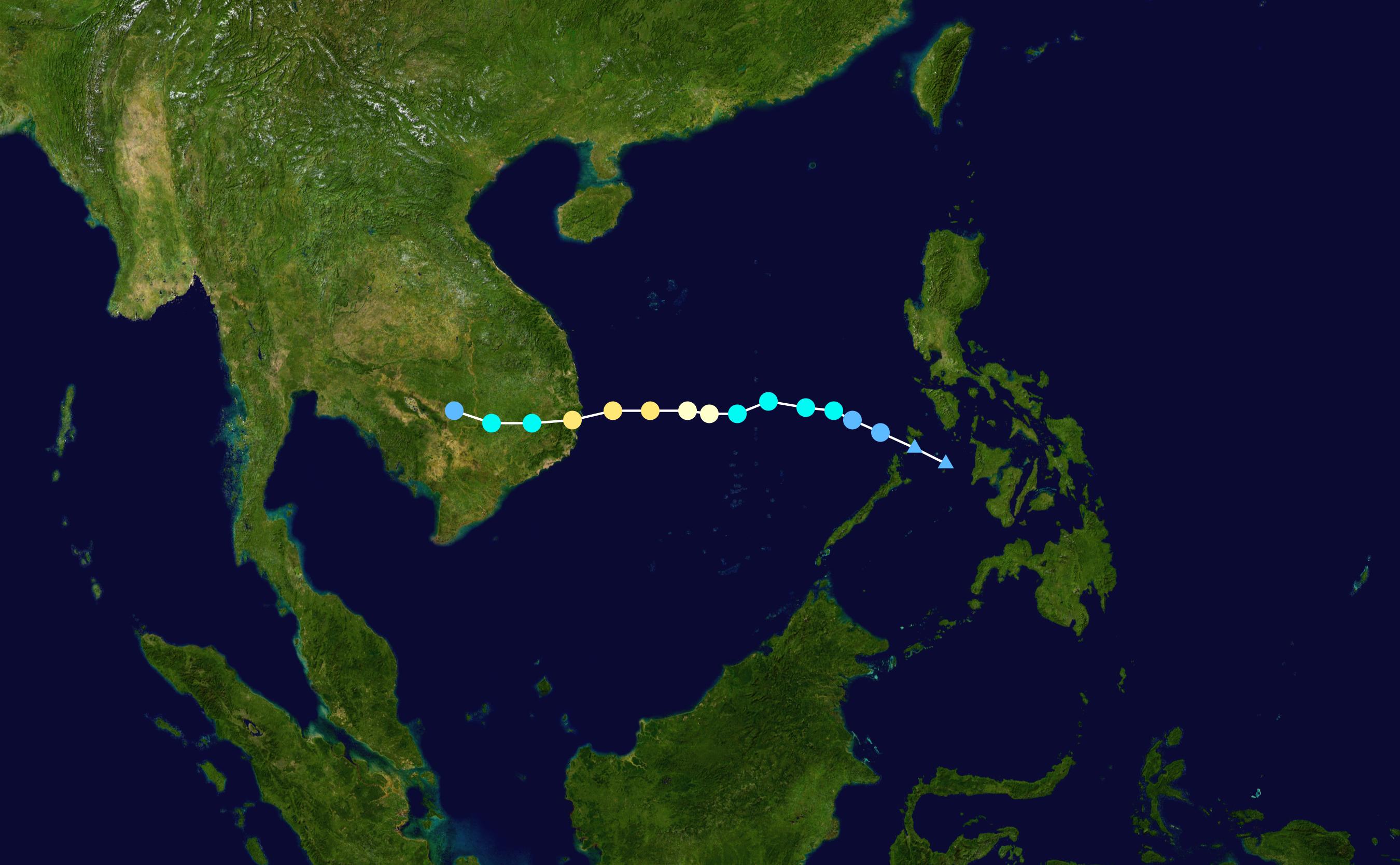 Typhoon Damrey (2017) - Wikipedia