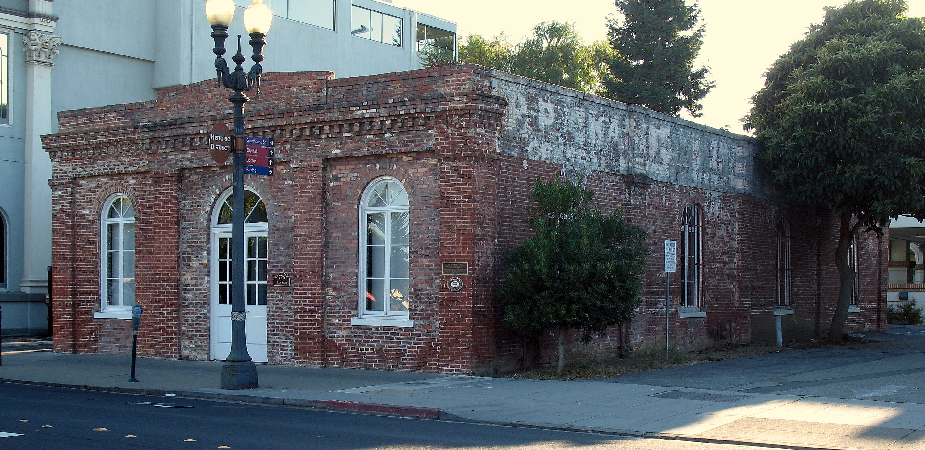 San Mateo Ca >> File:Diller-Chamberlain General Store-Quong Lee Laundry, 726 Main St., Redwood City, CA 9-5-2011 ...