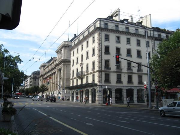 Женева, дом в котором жил Достоевский в 1868 году.