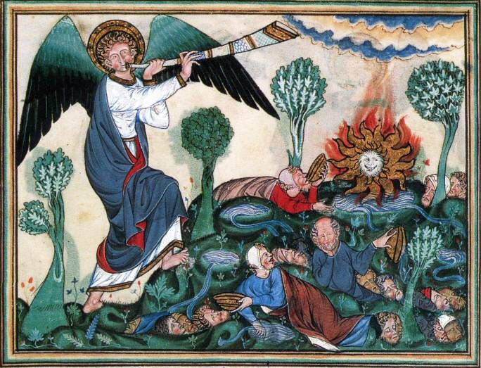 [Image: Douce_Apocalypse_-_Bodleian_Ms180_-_p.02...umphet.jpg]