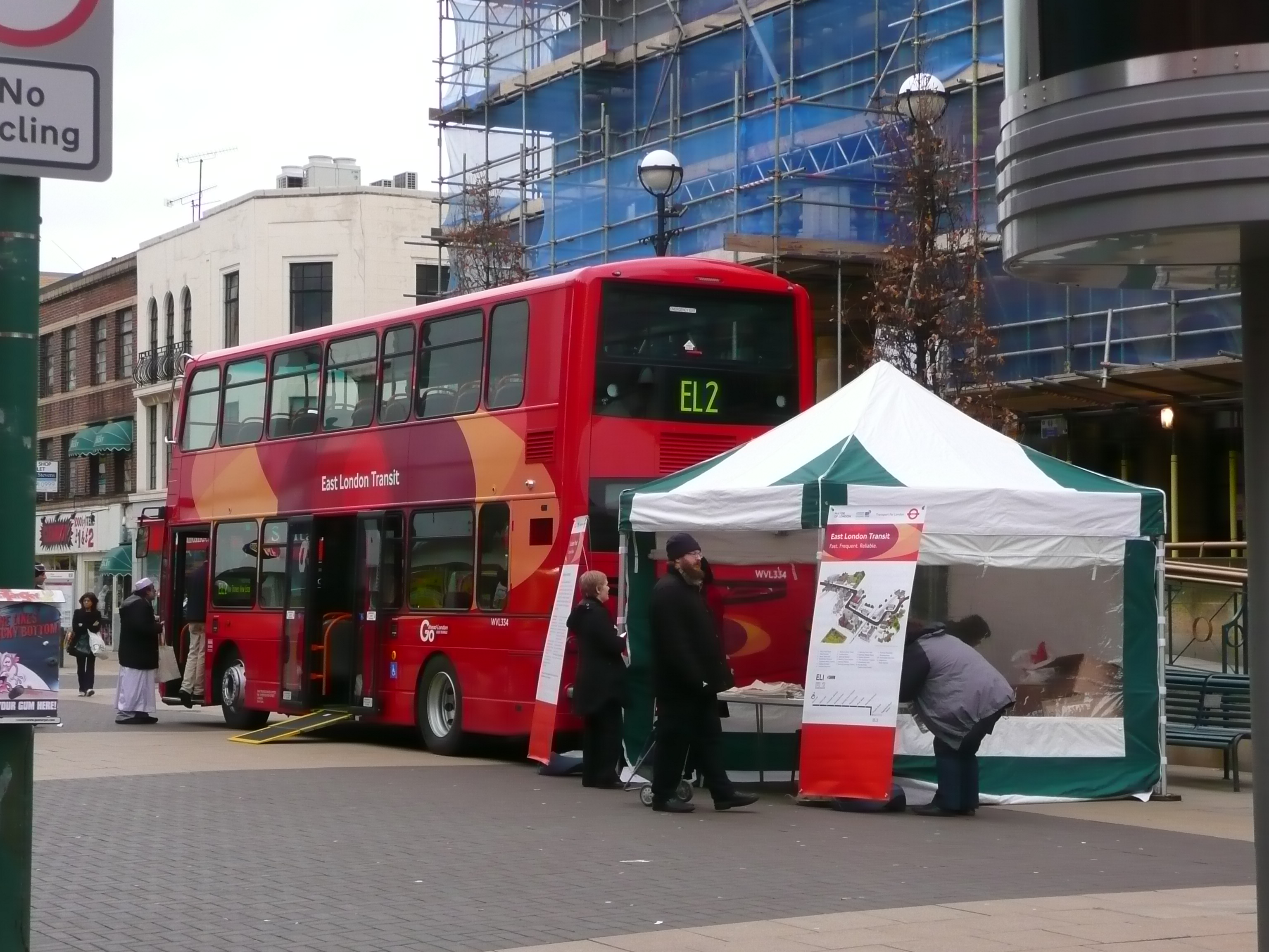 File East London Transit Demonstration Bus2 Jpg