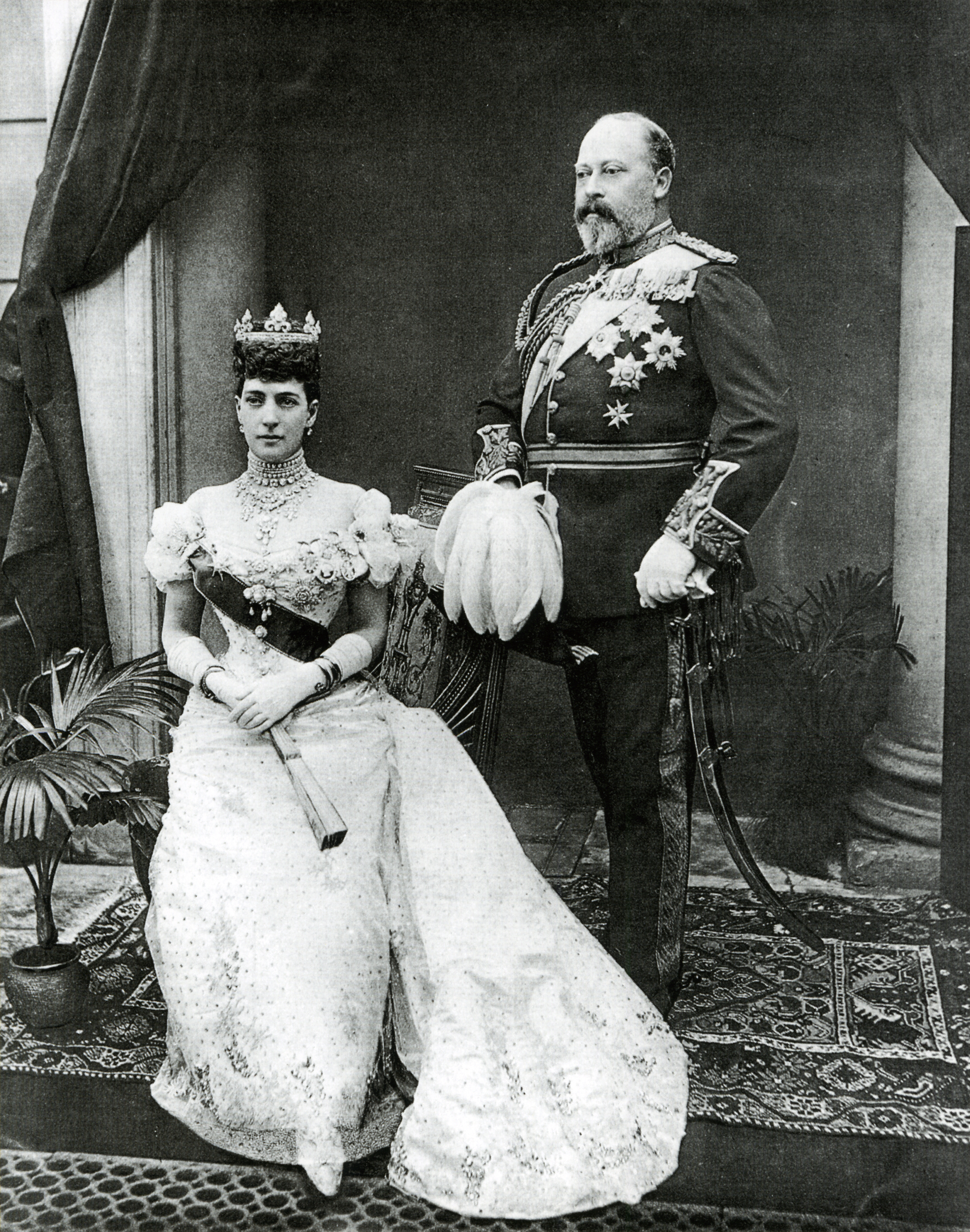 Matrimonio Romanov : File edward vii and alexandra after gunn stuart g