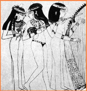 Histoire de la musique Egypt_musicians