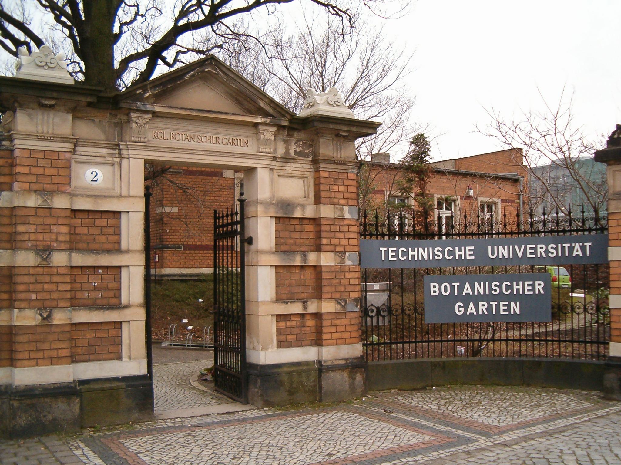 Dresden Botanical Garden Wikipedia