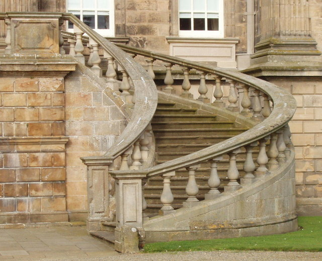 File:Entry Stairs At Duff House   Geograph.org.uk   559824.