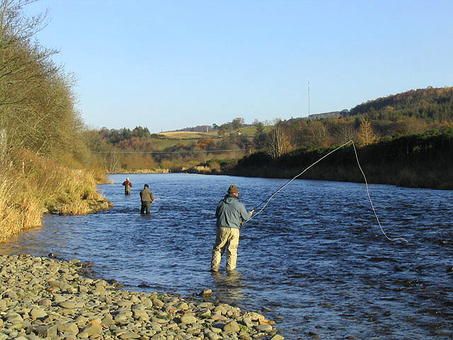 File:Fishing on the Ettrick Water - geograph.org.uk - 618667.jpg